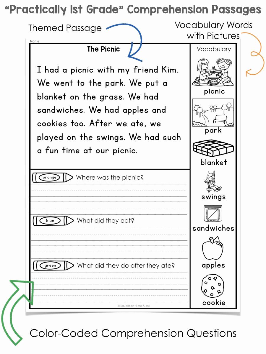 1st Grade Reading Worksheets Pdf Elegant Teach Child How to Read 1st Grade Science Prehension