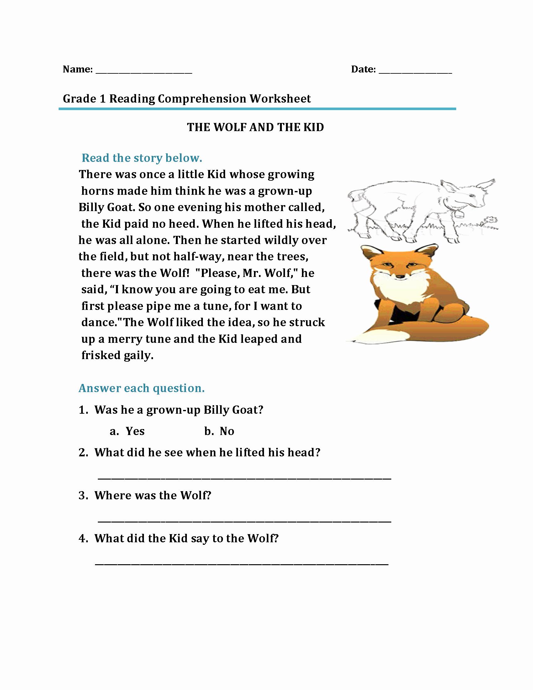 1st Grade Reading Worksheets Printable Best Of 1st Grade Reading Worksheets Best Coloring Pages for Kids