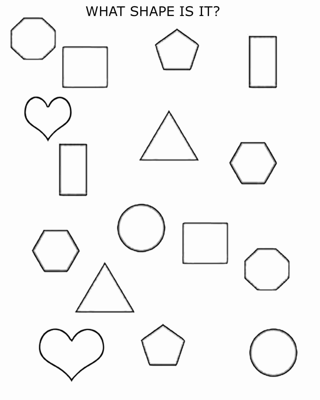 2d Shapes Worksheets Kindergarten Best Of 2d Shapes 1st 2nd Grade Bluebirdplanet Printables