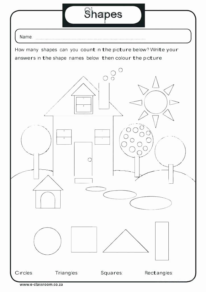 2d Shapes Worksheets Kindergarten Inspirational 2d Shapes Worksheet Kindergarten Shapes 3d Shapes