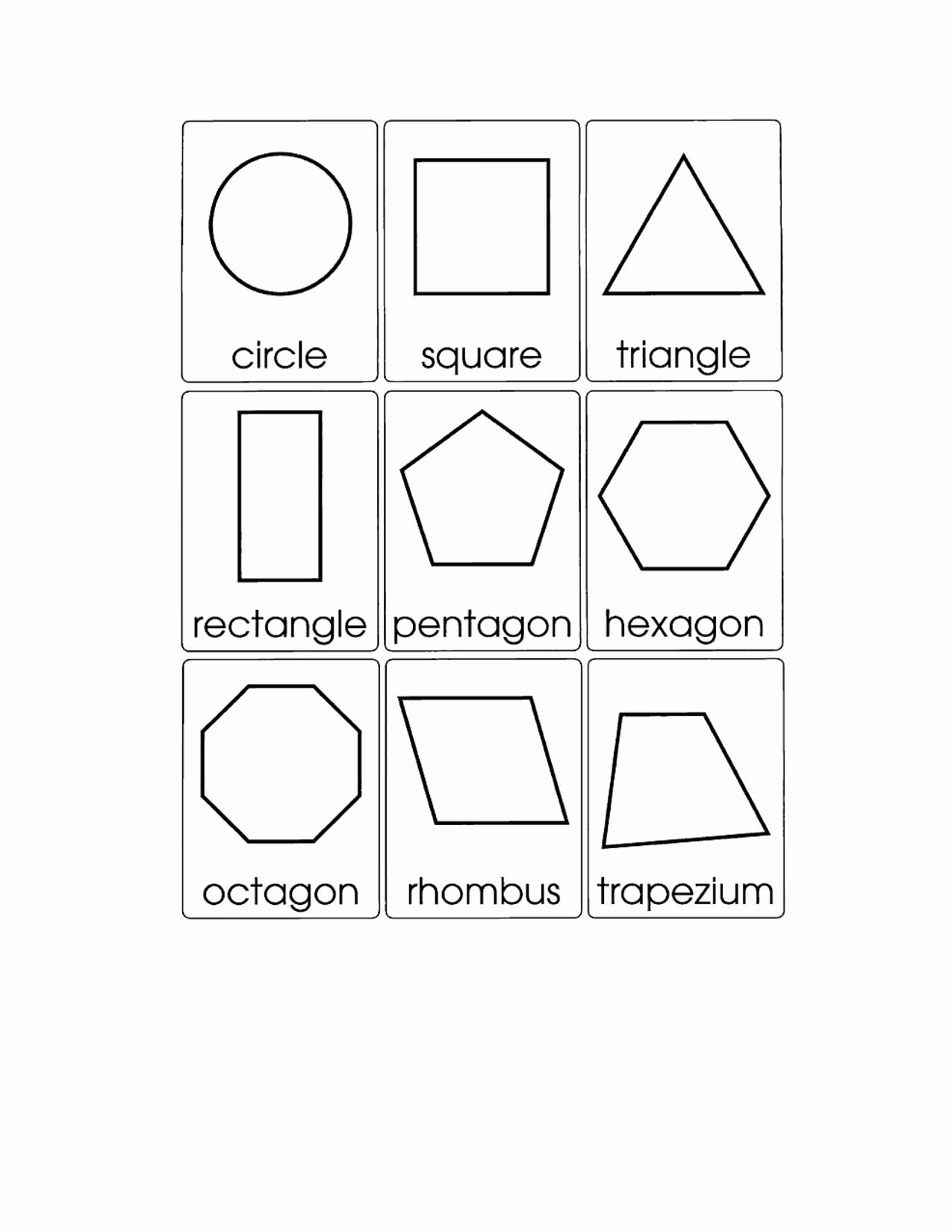 2d Shapes Worksheets Kindergarten New 13 Best Of Printable Shape Matching Worksheets