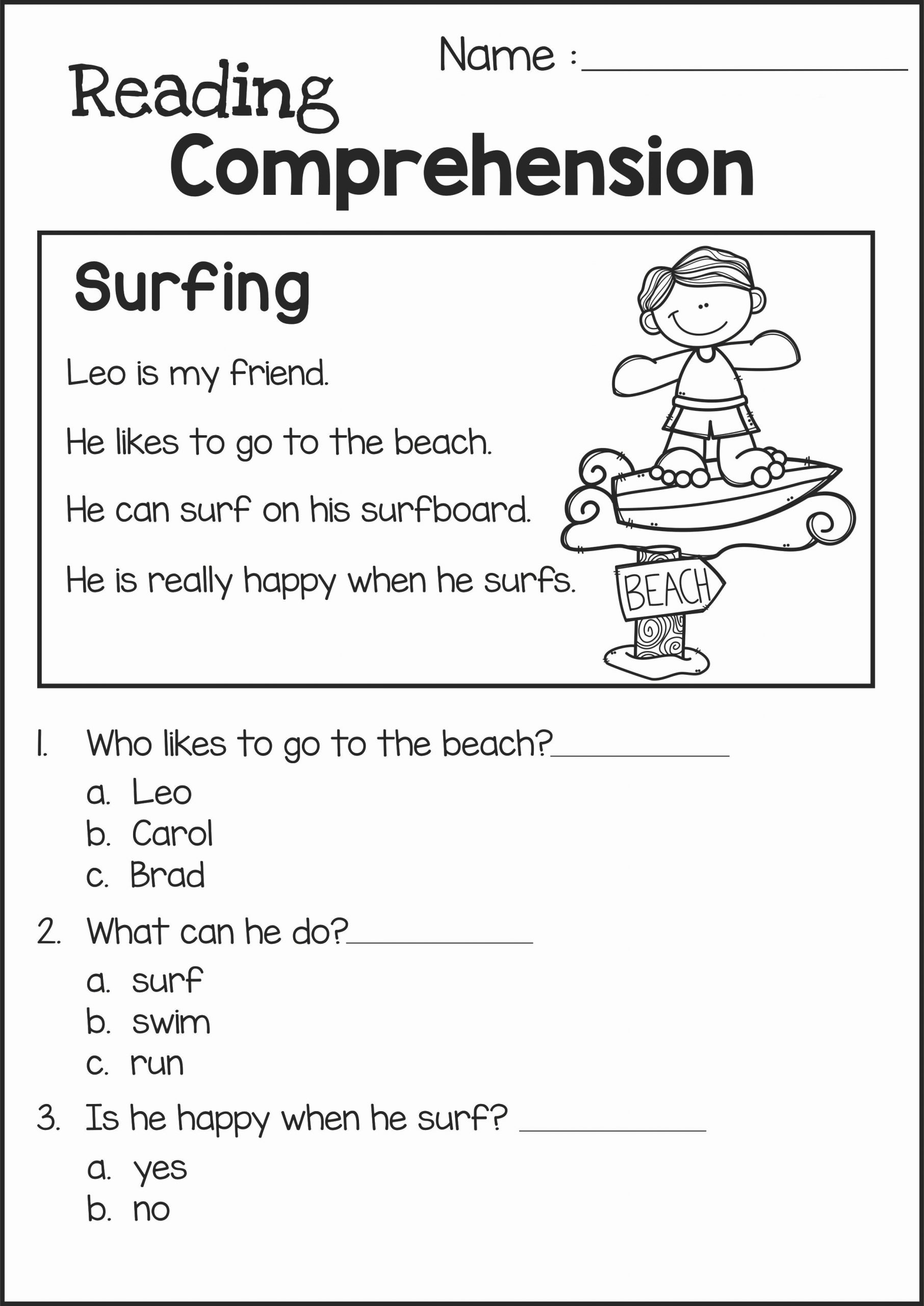 2nd Grade Grammar Worksheets Free Awesome 2nd Grade Reading Worksheets Best Coloring Pages for Kids