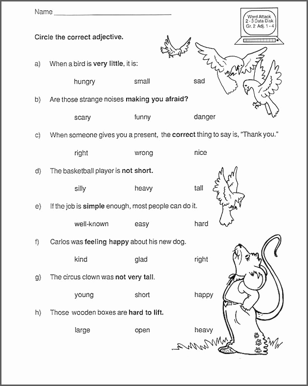 2nd Grade Grammar Worksheets Free Inspirational 2nd Grade English Worksheets Best Coloring Pages for Kids