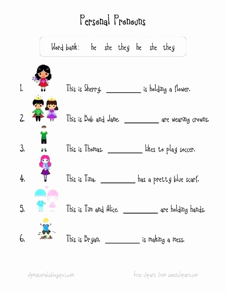 2nd Grade Grammar Worksheets Pdf Beautiful Pronoun Worksheets for 2nd Grade Grammar Worksheets for