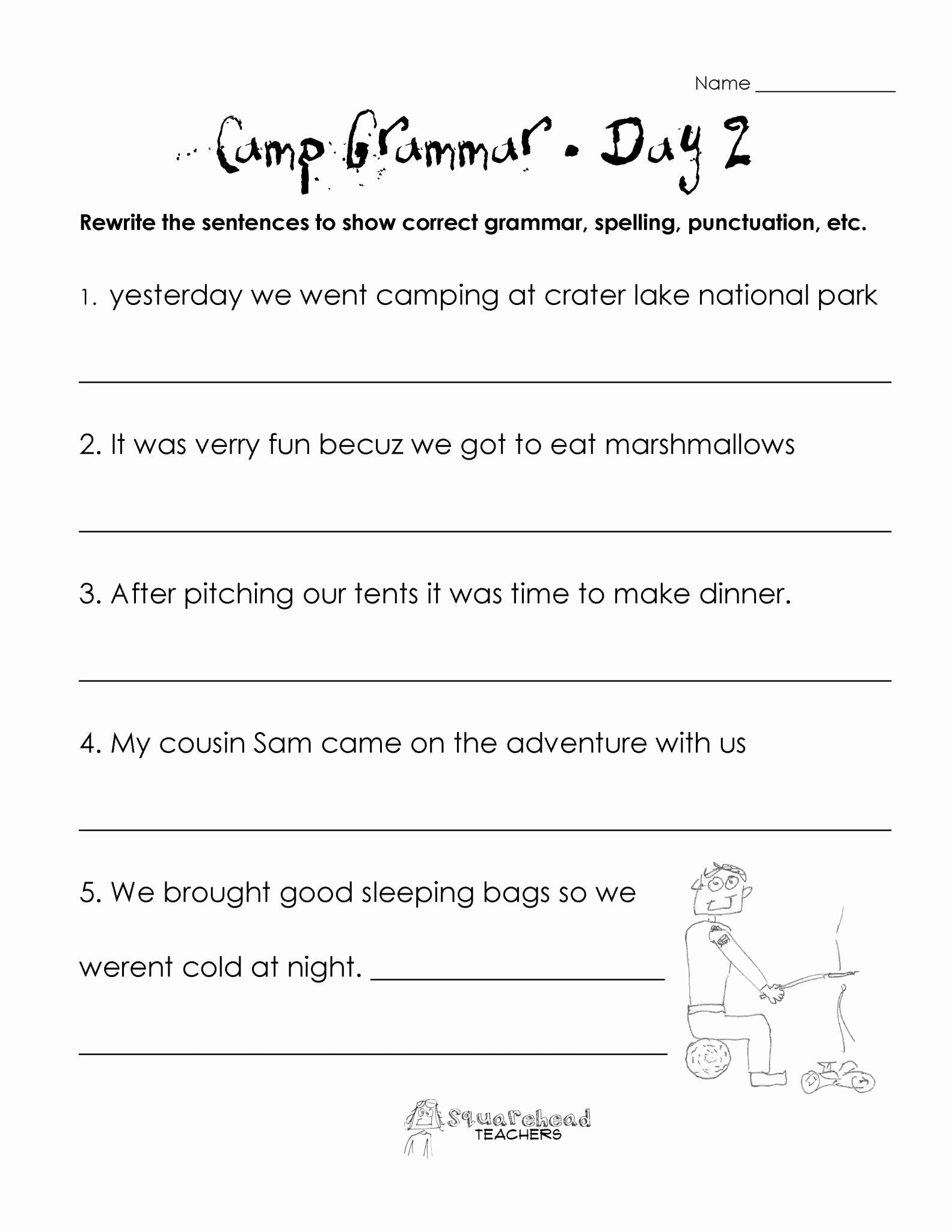 2nd Grade Grammar Worksheets Pdf Luxury 2nd Grade Grammar Worksheets Pdf