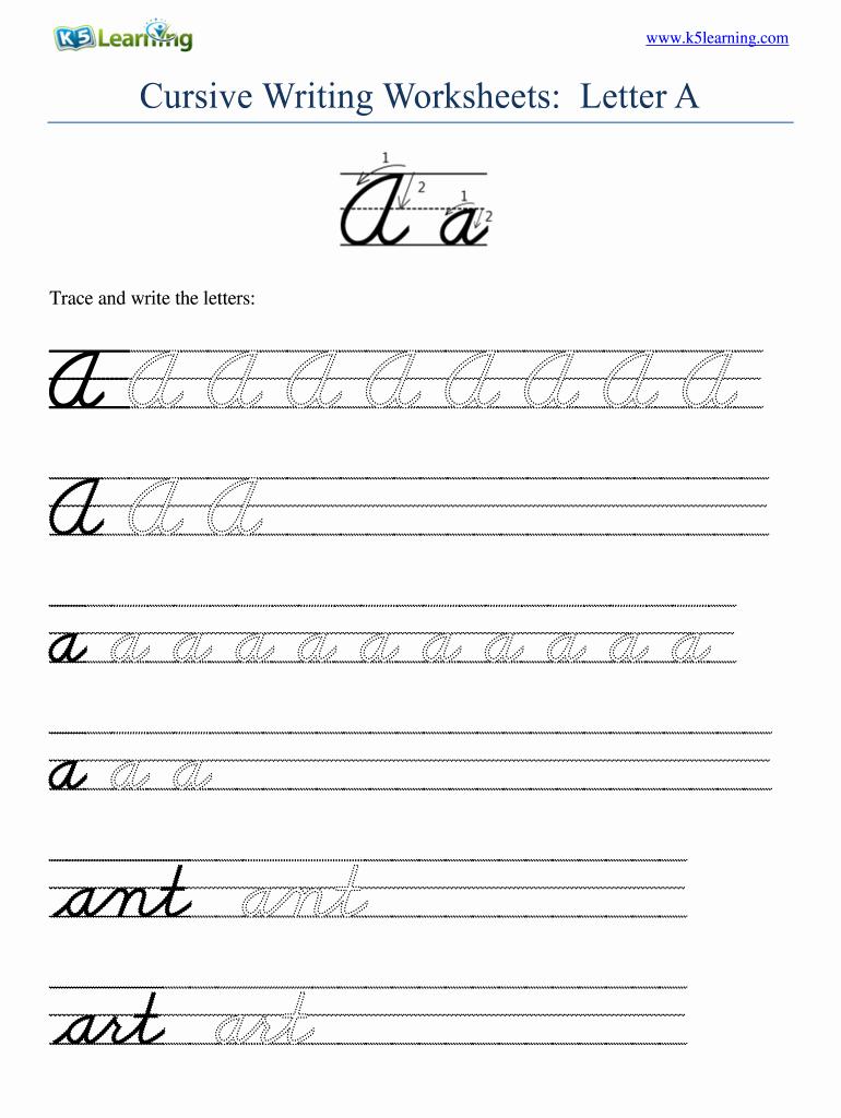 2nd Grade Handwriting Worksheets Pdf Elegant 2nd Grade Cursive Worksheets Tracing