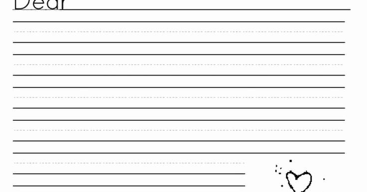 2nd Grade Handwriting Worksheets Pdf Elegant Letter Stationary Pdf