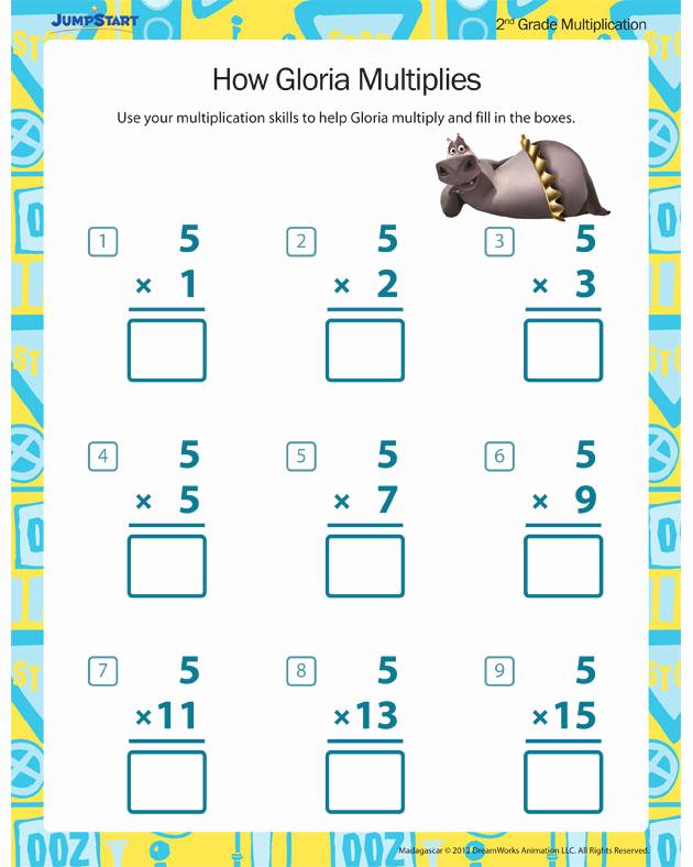 2nd Grade Multiplication Worksheets Inspirational How Gloria Multiplies View – Free 2nd Grade Multiplication