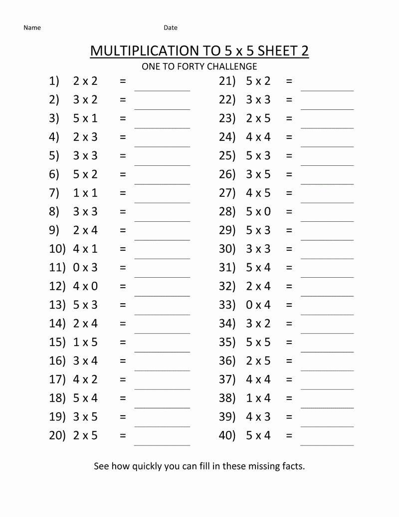 2nd Grade Multiplication Worksheets Unique Printable Multiplication Worksheets 2nd Grade Coloring