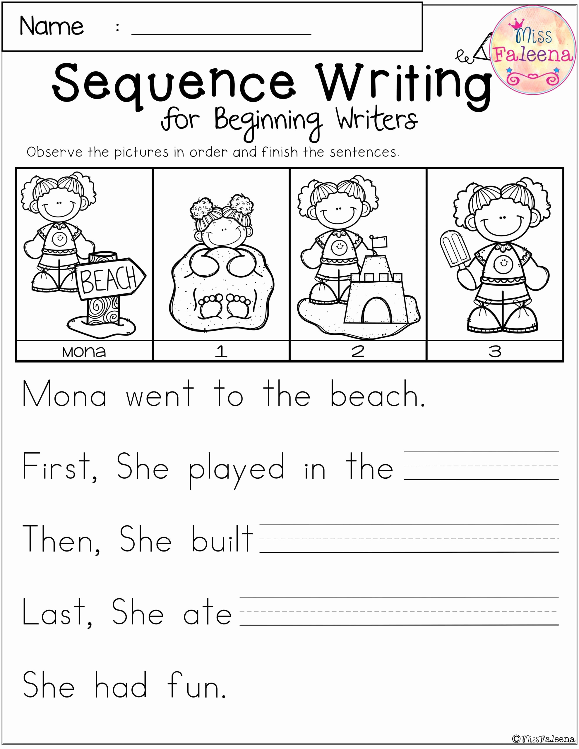 2nd Grade Sequencing Worksheets Awesome Sequence Worksheets 2nd Grade