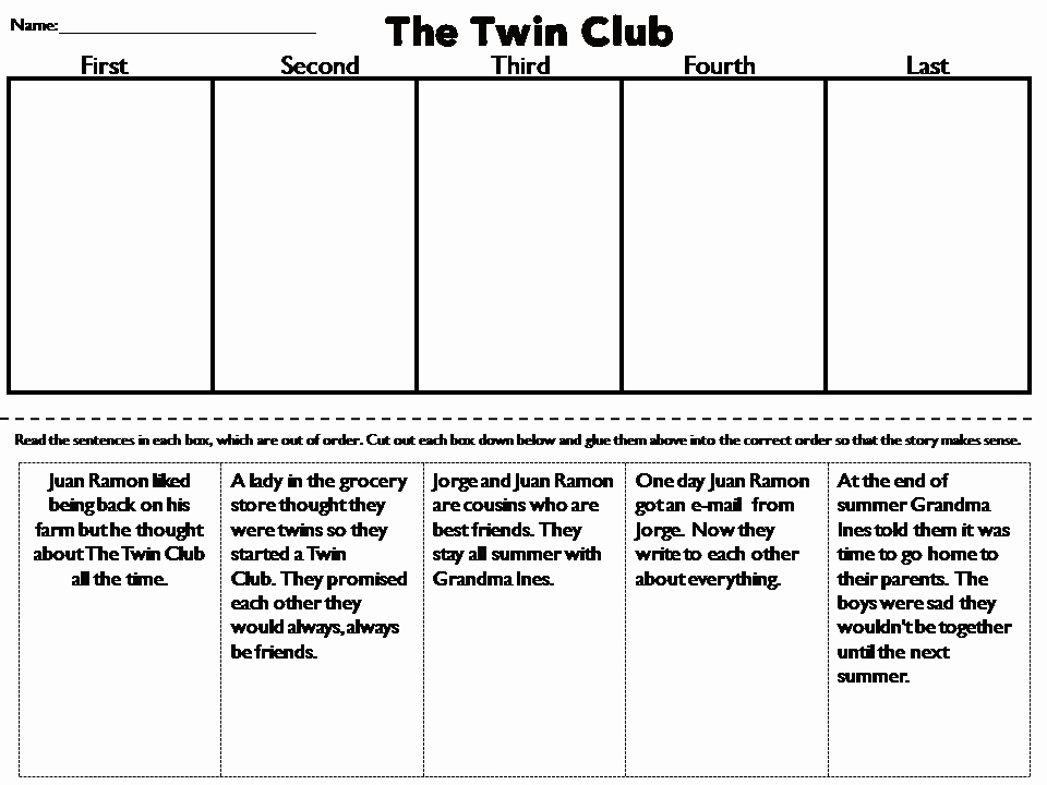 2nd Grade Sequencing Worksheets Best Of Sequencing Story 2nd Grade Anchor Charts Sequencing