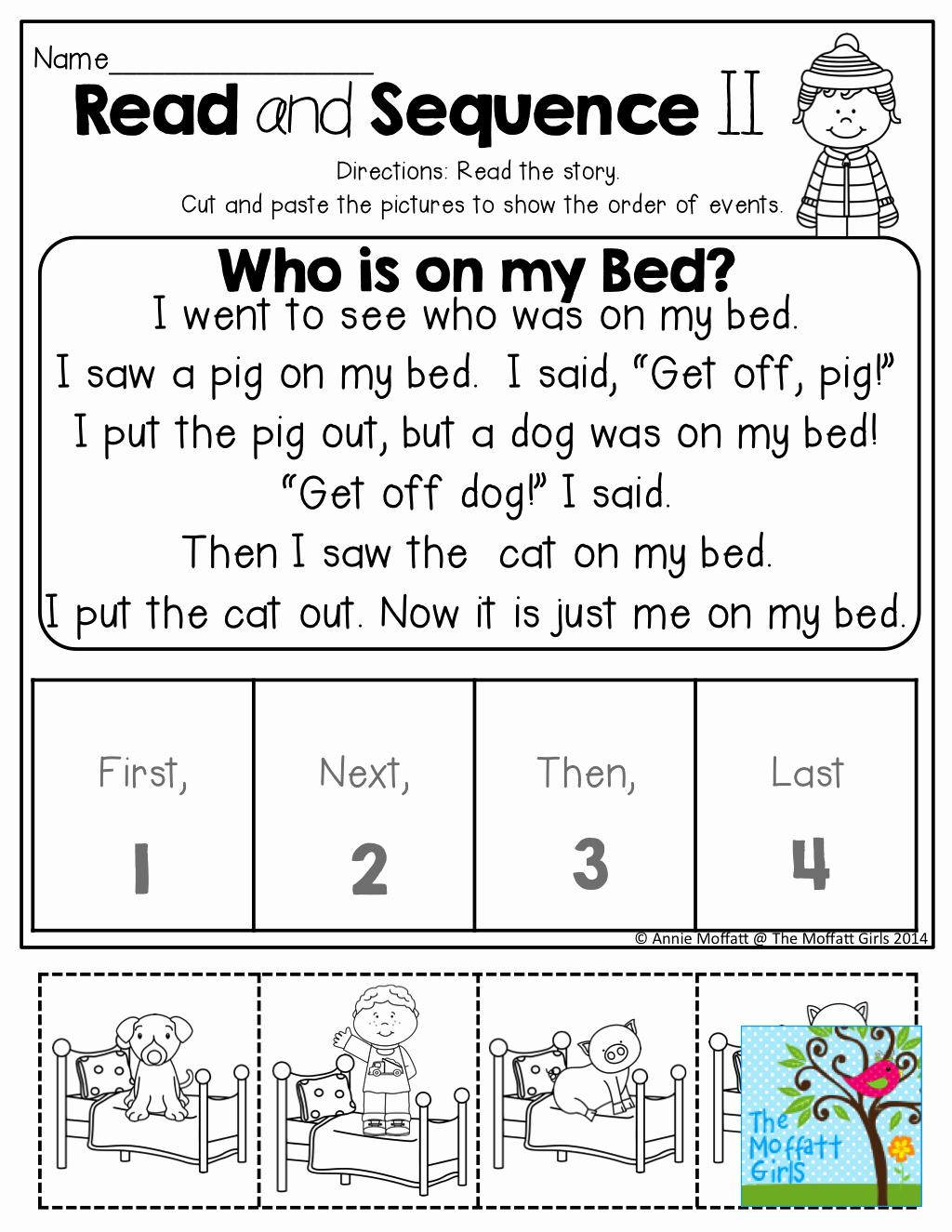 2nd Grade Sequencing Worksheets Elegant Free Printable Sequencing Worksheets 2nd Grade