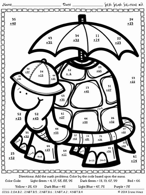3 Digit Addition Coloring Worksheets Elegant 3 Digit Addition with Regrouping Coloring Sketch Coloring Page