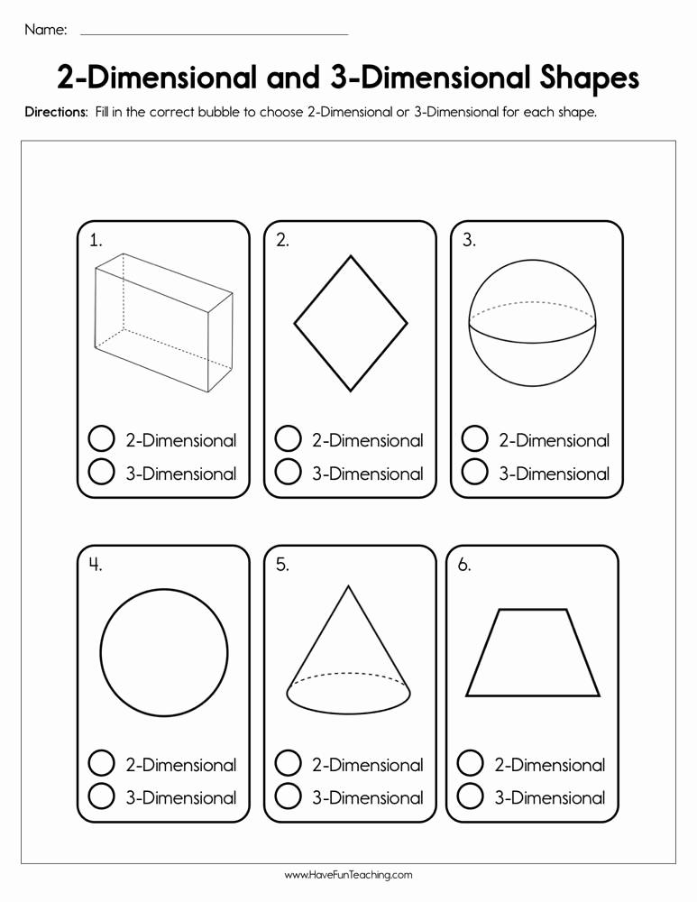 3 Dimensional Shapes Worksheet New T Three Dimensional Shapes Worksheets