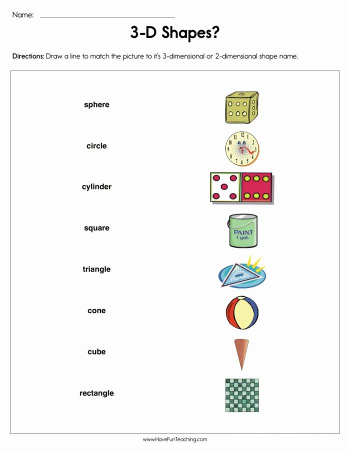 3 Dimensional Shapes Worksheet Unique 30 3 Dimensional Shapes Worksheet