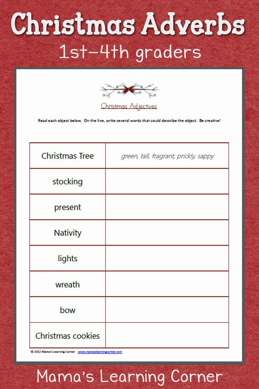 3rd Grade Adjectives Worksheets New 20 Adjectives Worksheets 3rd Grade