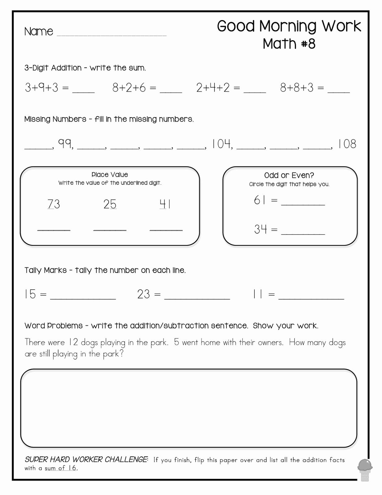 3rd Grade Brain Teasers Worksheets Elegant 3rd Grade Math Brain Teasers Worksheets Printable — Db