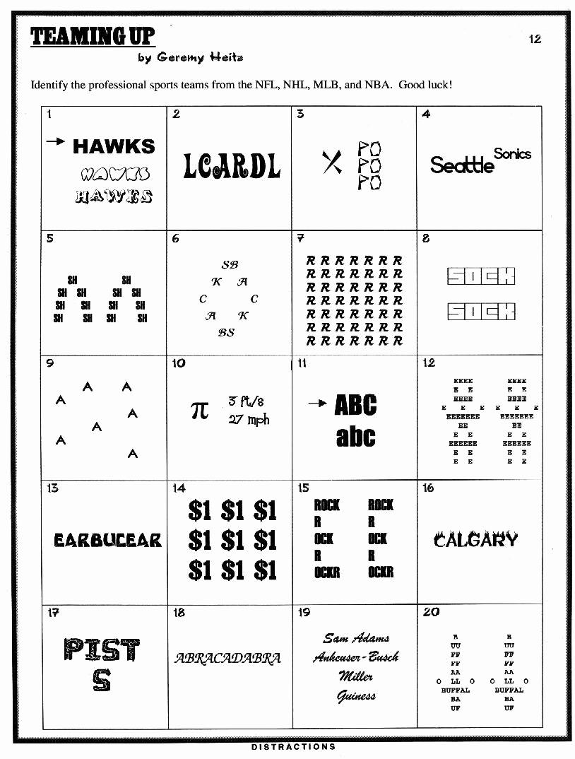 3rd Grade Brain Teasers Worksheets Lovely Simply 20 3rd Grade Brain Teasers Printable Printable