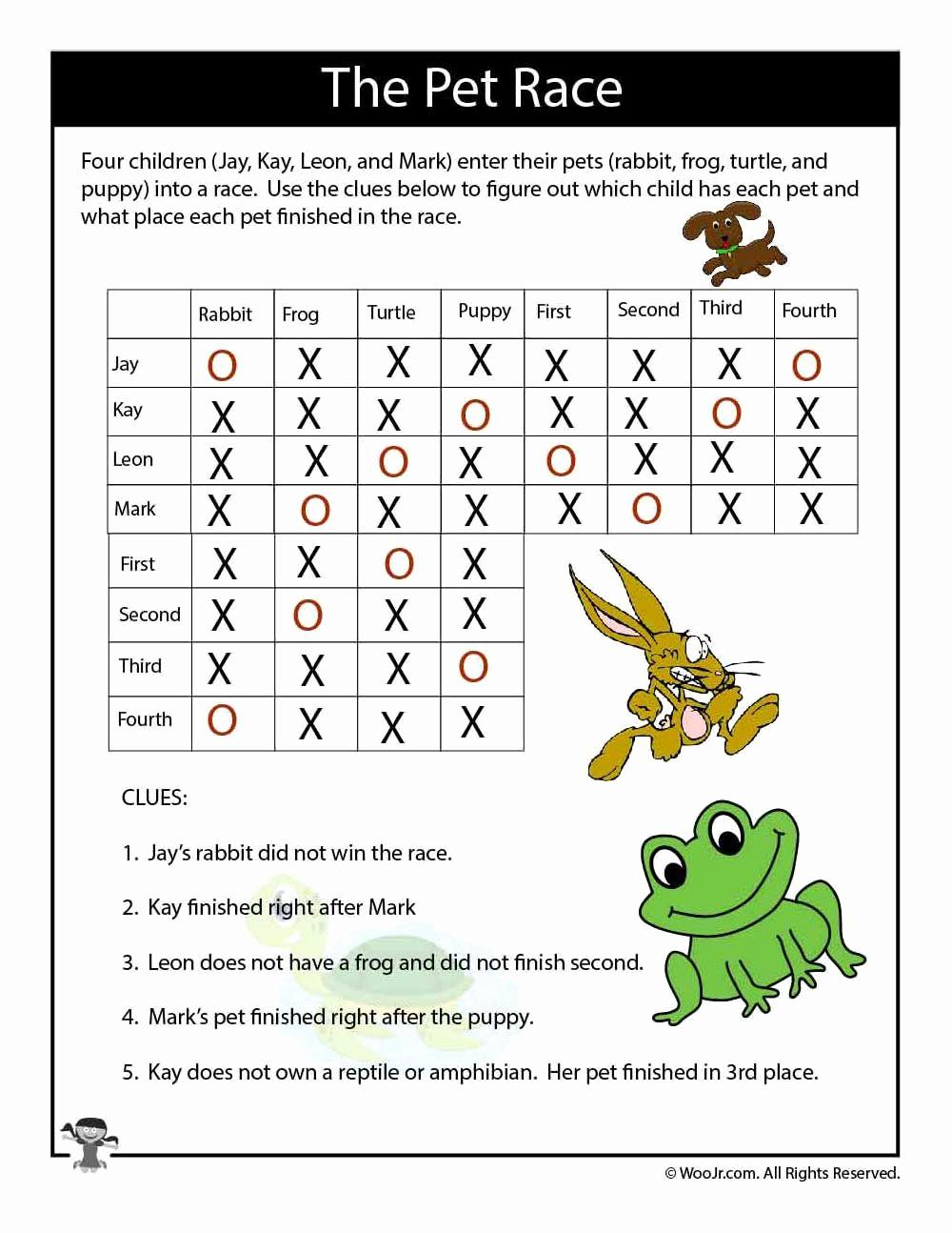 3rd Grade Brain Teasers Worksheets Luxury Simply 20 3rd Grade Brain Teasers Printable Printable