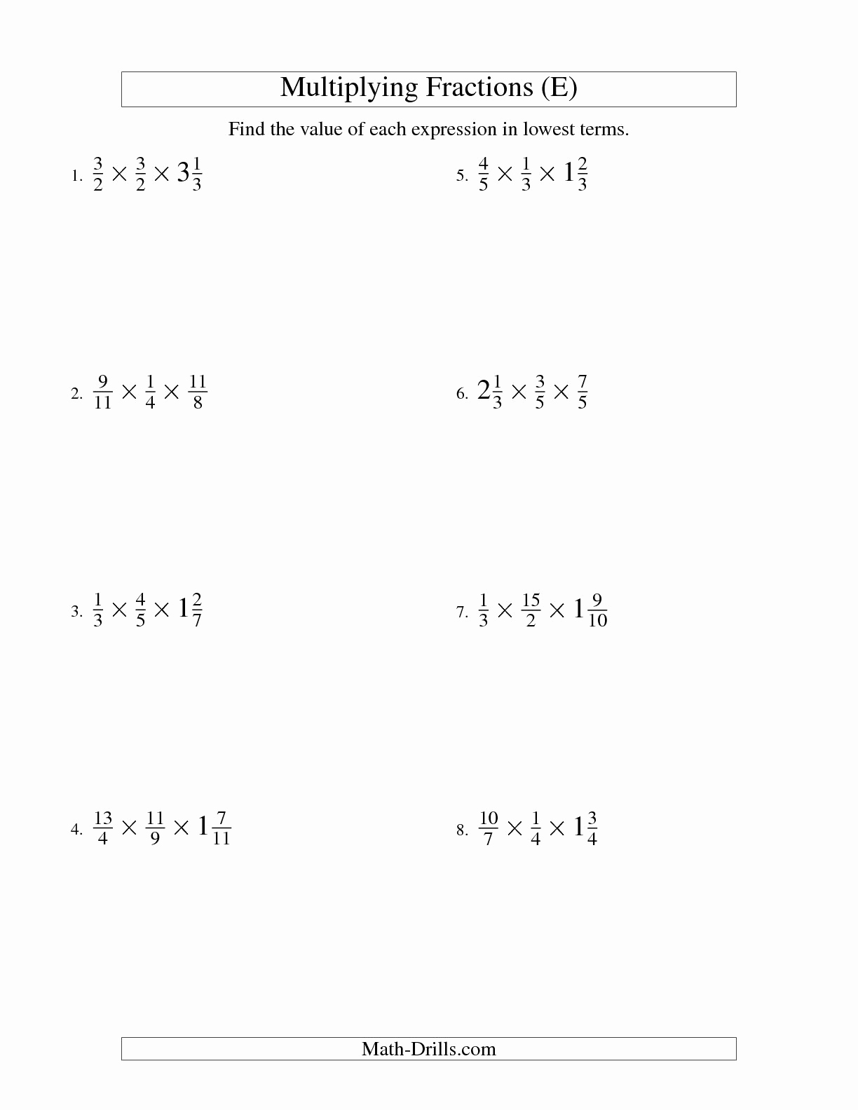 3rd Grade Distributive Property Worksheets Beautiful 11 Best Of Simplifying Mixed Fractions Worksheet