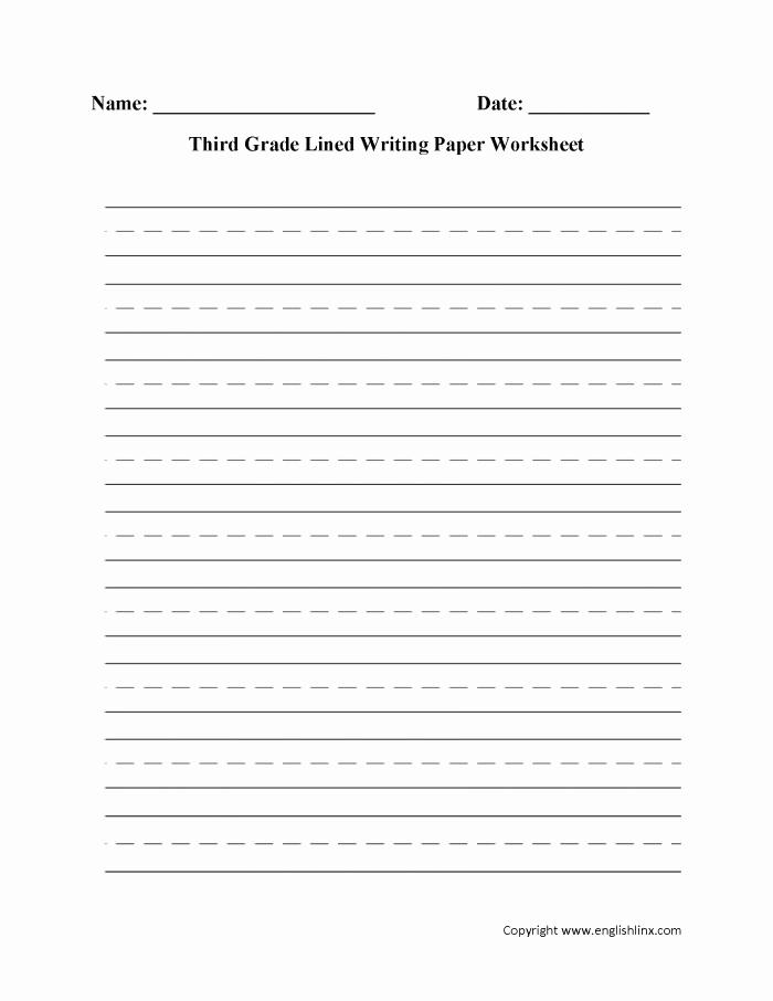 3rd Grade Essay Writing Worksheet Fresh 3rd Grade Writing Worksheets