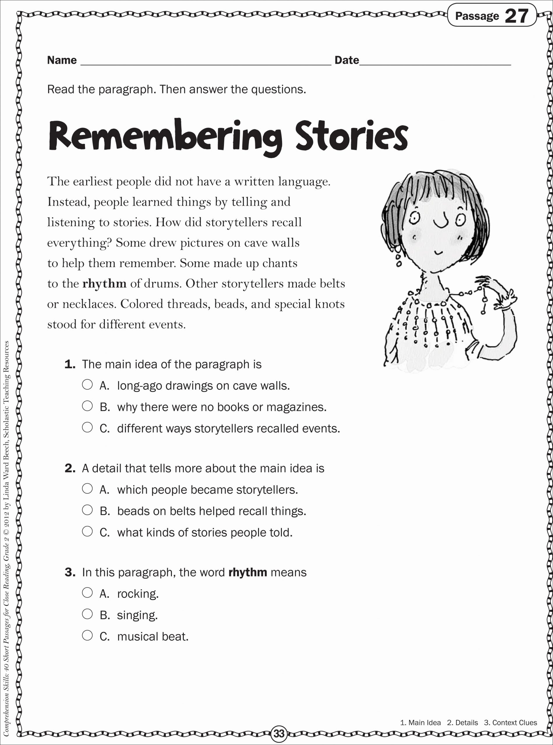 3rd Grade Main Idea Worksheets Best Of 10 attractive Main Idea and Details Worksheets 3rd Grade 2020
