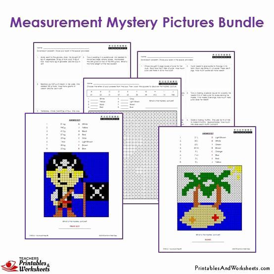 3rd Grade Measurement Worksheet Awesome 3rd Grade Measurement Mystery Coloring Worksheets