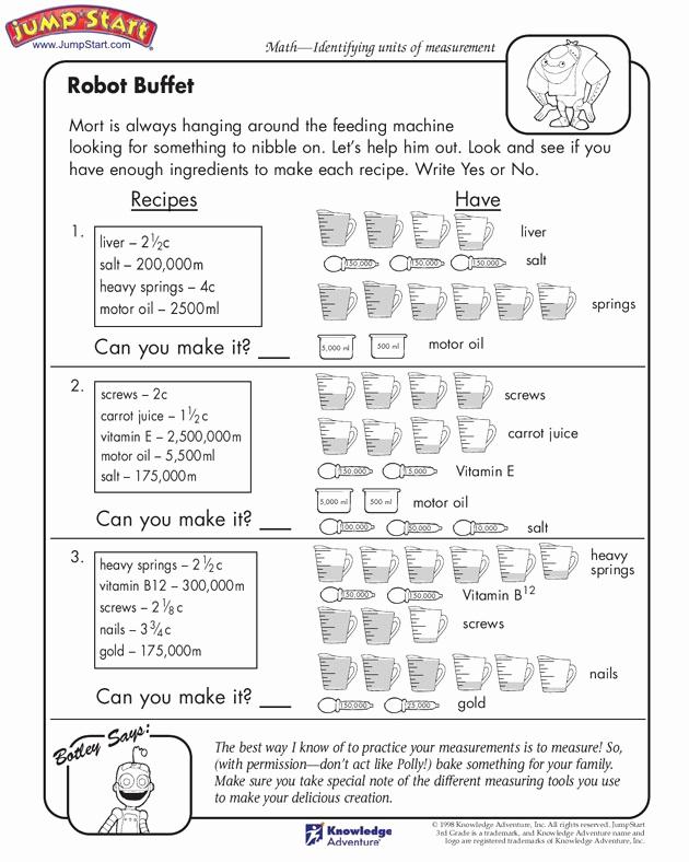 3rd Grade Measurement Worksheet Fresh 20 Best Images About Measurement Third On Pinterest