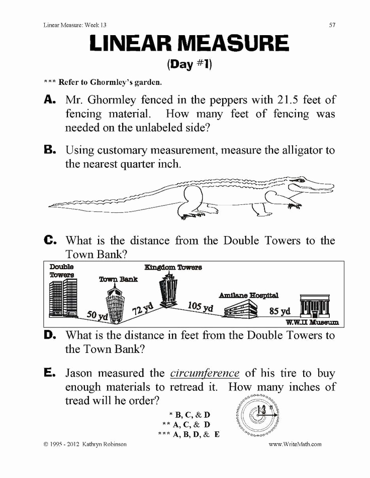 3rd Grade Measurement Worksheets Unique Measurement Worksheets Grade 3 In 2020