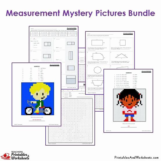 3rd Grade Measuring Worksheets Elegant 3rd Grade Measurement Mystery Coloring Worksheets
