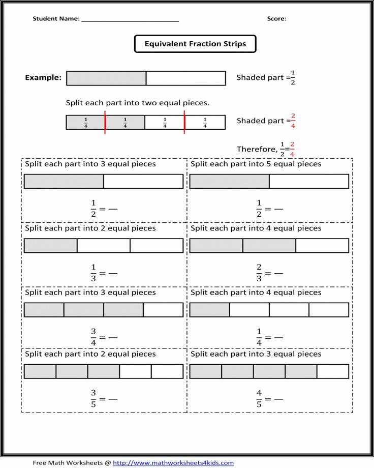 3rd Grade Number Line Worksheets Luxury Free Printable Math Fraction Worksheets for 3rd Grade
