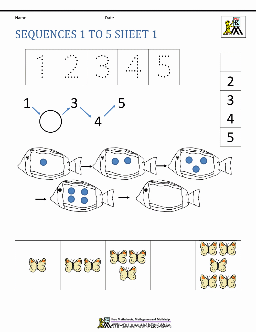 3rd Grade Sequencing Worksheets Inspirational Number Sequence Worksheets 3rd Grade
