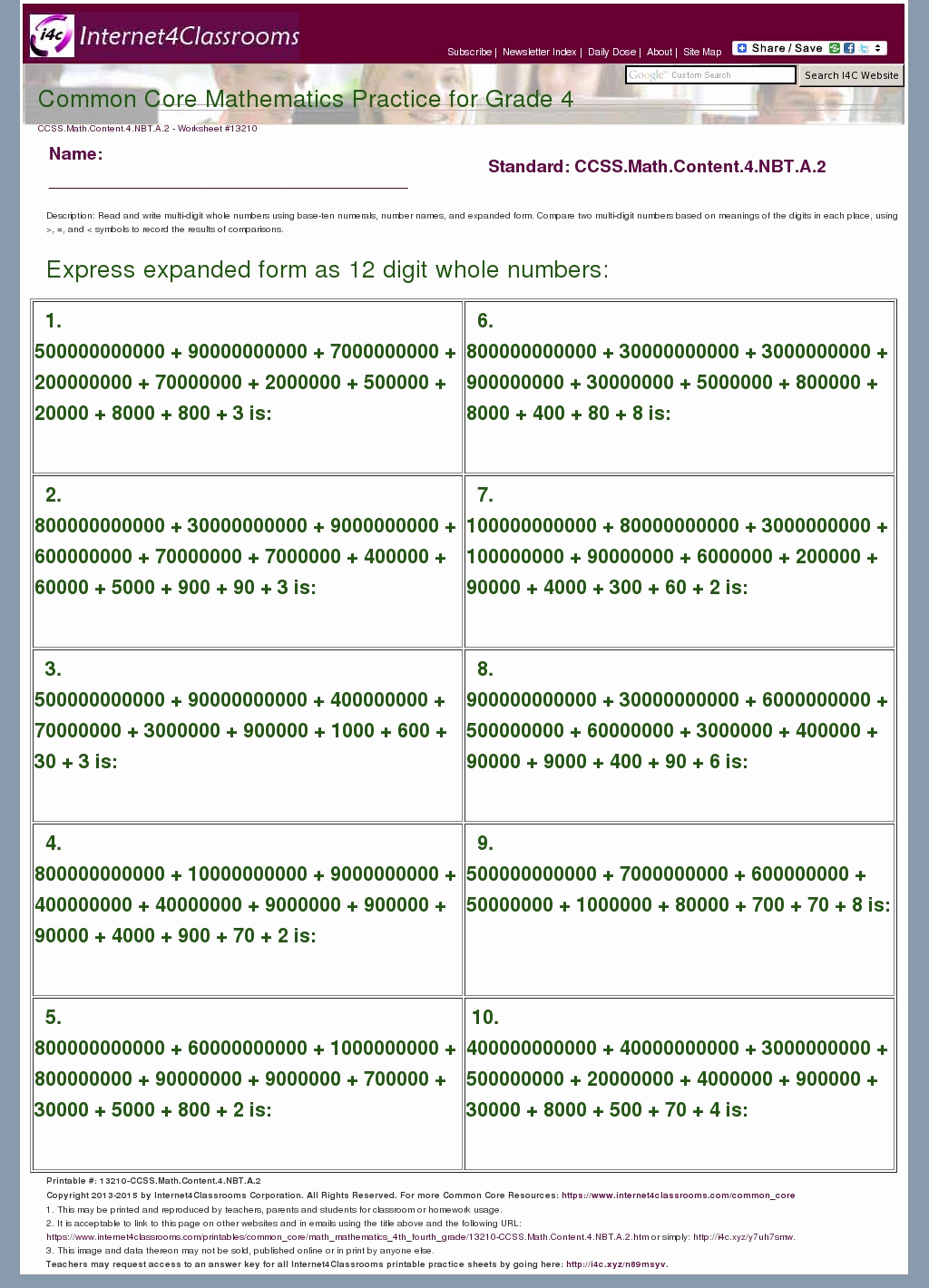 4 Nbt 6 Worksheets Fresh 32 [pdf] 4 Nbt A 1 Worksheets Printable Zip Docx Download