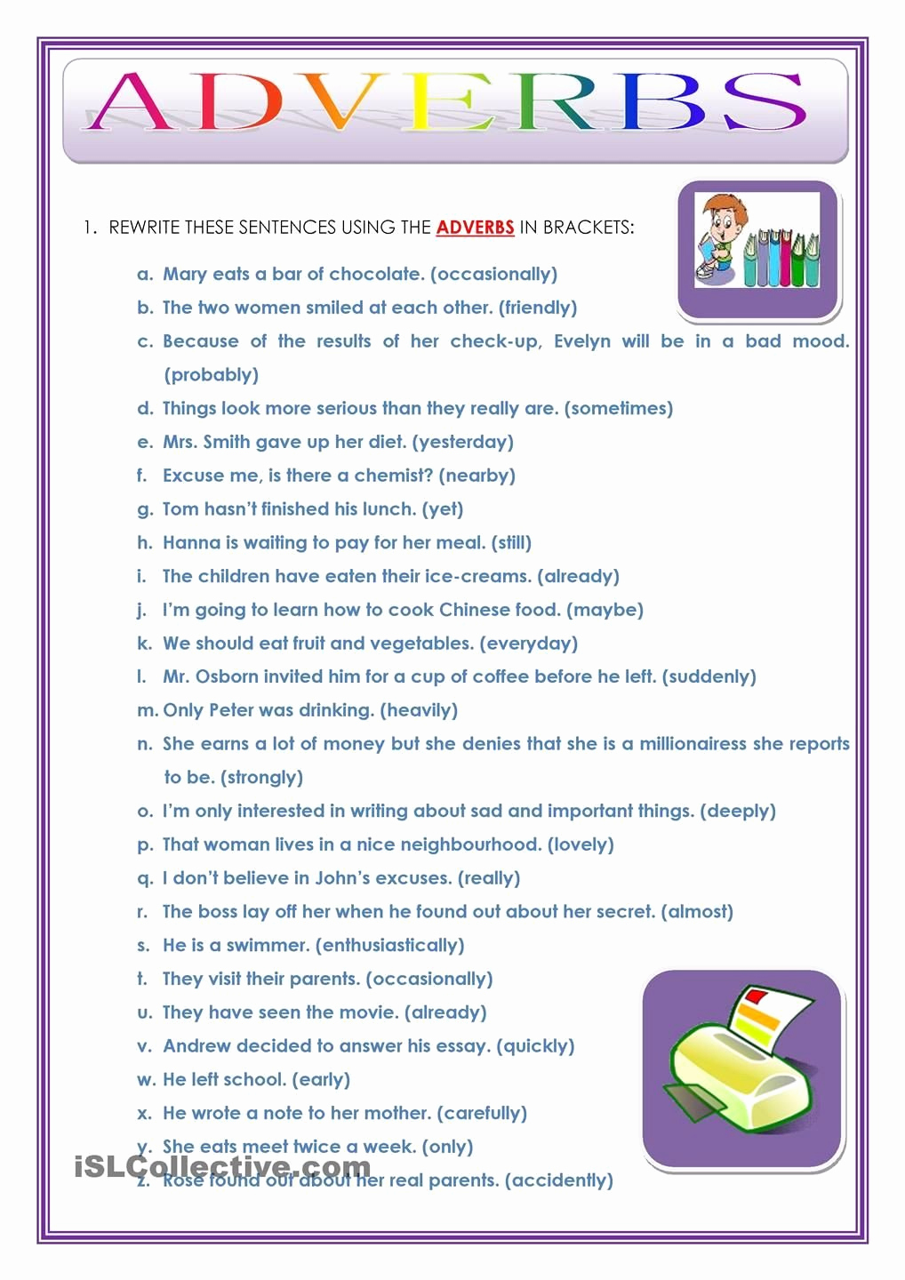 4th Grade Adverb Worksheets Fresh 20 Relative Adverbs Worksheet 4th Grade