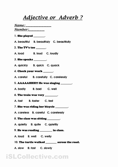 4th Grade Adverb Worksheets Fresh Adverbs Worksheet 3rd Grade Pdf Driverlayer Search Engine