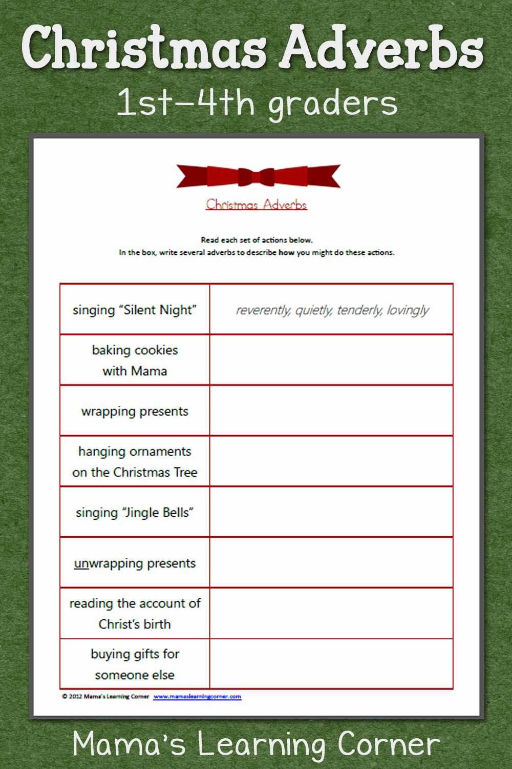 4th Grade Adverb Worksheets Unique Adverbs for 4th Grade