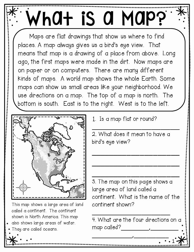 4th Grade Map Skills Worksheets Beautiful 4th Grade Basic Map Skills Worksheets thekidsworksheet