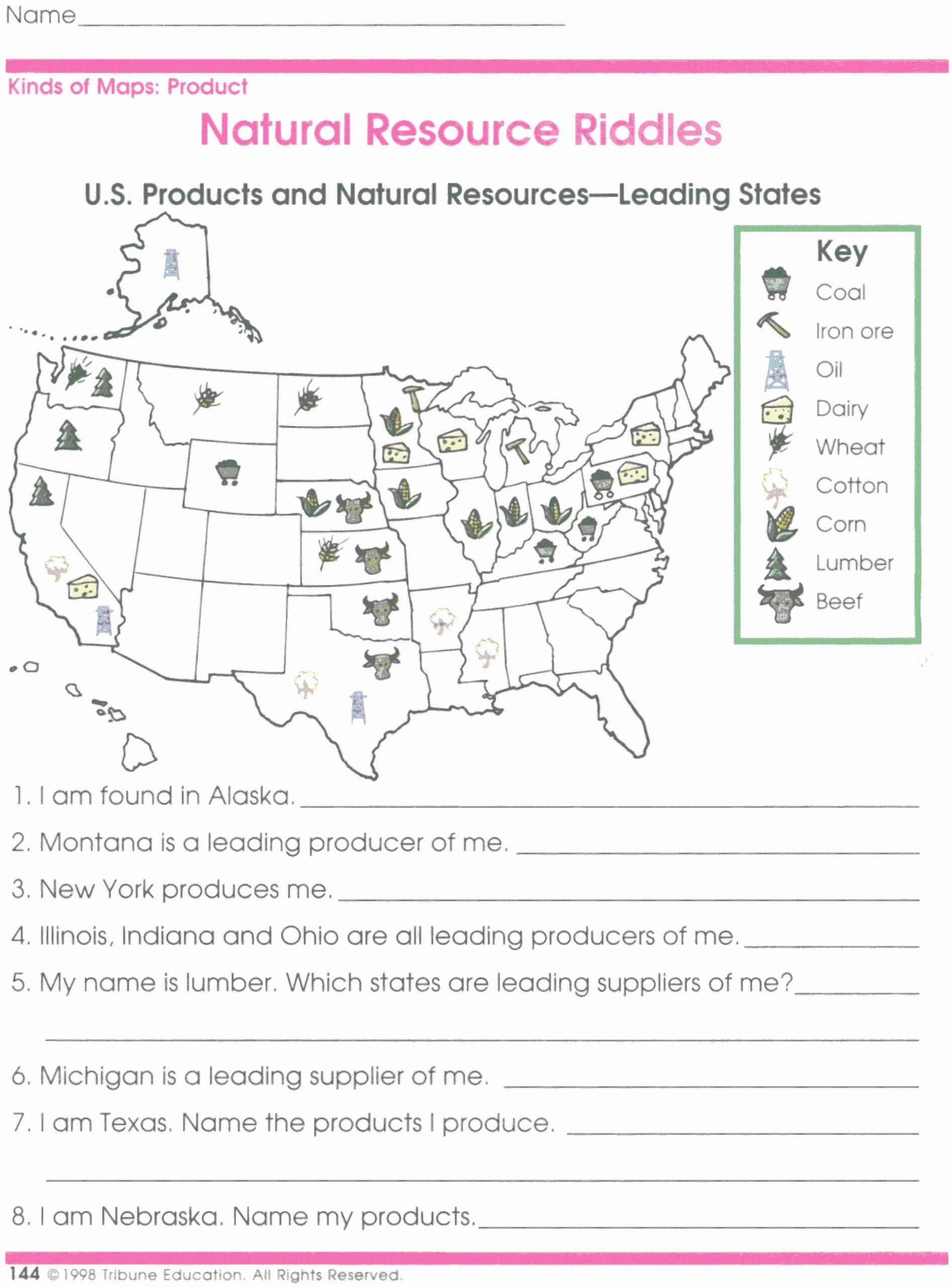 4th Grade Map Skills Worksheets Elegant 10 Inspirational Printable Map Skills Worksheets for 4th
