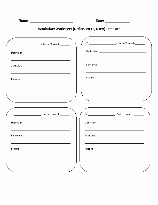4th Grade Vocabulary Worksheets Pdf Awesome 17 Best Of Matching Worksheet Template Pdf