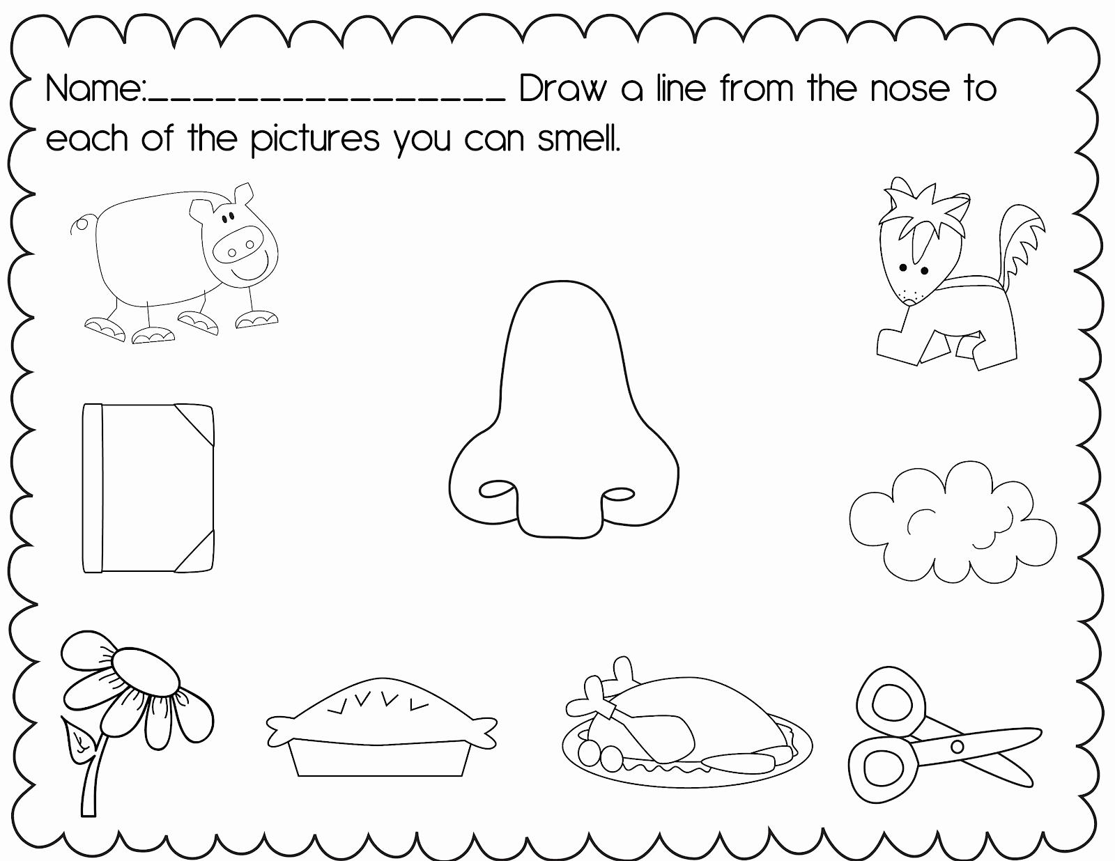 5 Senses Worksheets for Kindergarten Inspirational 8 Best Of Preschool Science Printables Pre K Five