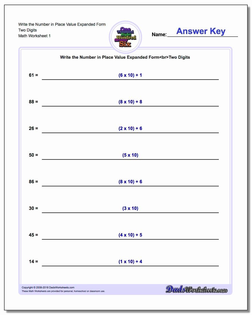 5th Grade Expanded form Worksheets New Decimal Review Worksheet 5th Grade Beginner Worksheet