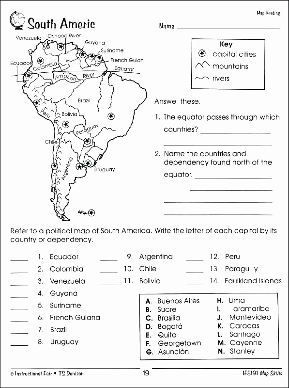 5th Grade Geography Worksheets Fresh 25 5th Grade Geography Worksheets