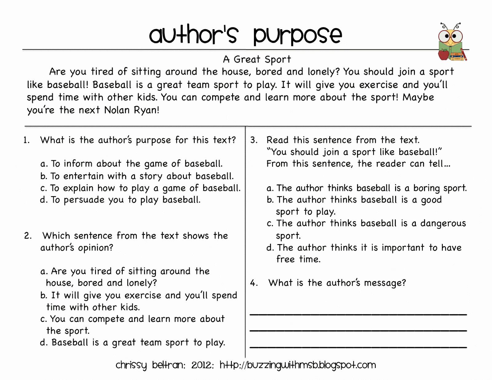 5th Grade Main Idea Worksheets Best Of Main Idea Worksheet 5th Grade Worksheet