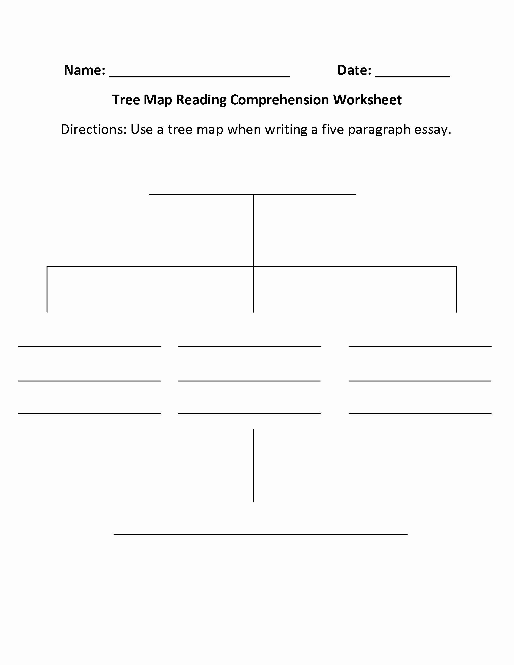 5th Grade Main Idea Worksheets Luxury 10 Spectacular Main Idea Worksheets for 5th Grade 2020