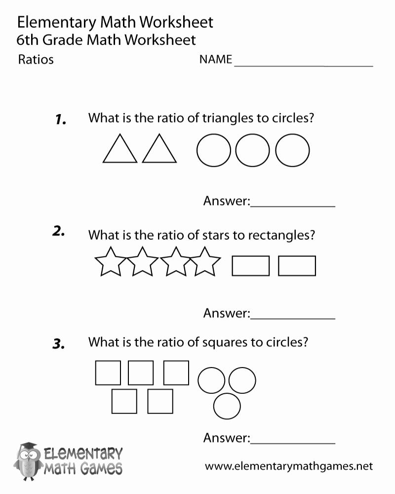 6th Grade Math Puzzle Worksheets Elegant Go Math 6th Grade Printable Worksheets