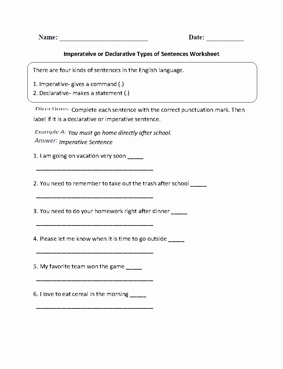 6th Grade Sentence Structure Worksheets Best Of Punctuation Worksheets for Grade 6 with Answers