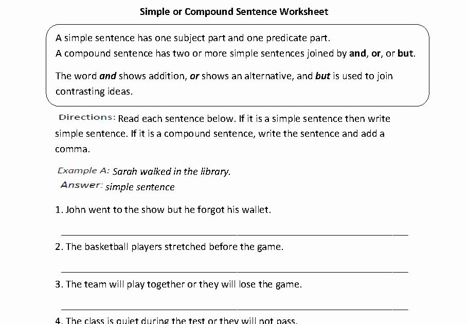 6th Grade Sentence Structure Worksheets Elegant 62 Worksheet English 6th Grade Kidworksheet