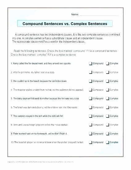 6th Grade Sentence Structure Worksheets New 6th Grade Sentence Structure Worksheets Write A Sentence