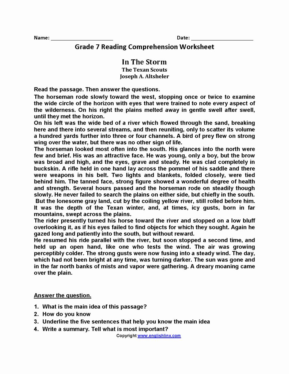 7th Grade Grammar Worksheets Pdf Best Of 7th Grade Grade 7 English Worksheets Pdf Kidsworksheetfun
