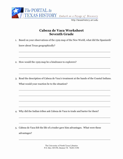 7th Grade History Worksheets Fresh 7th Grade Texas History Worksheets Preschool & K Worksheets